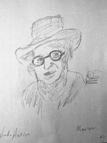Sketch by Linda Austrian