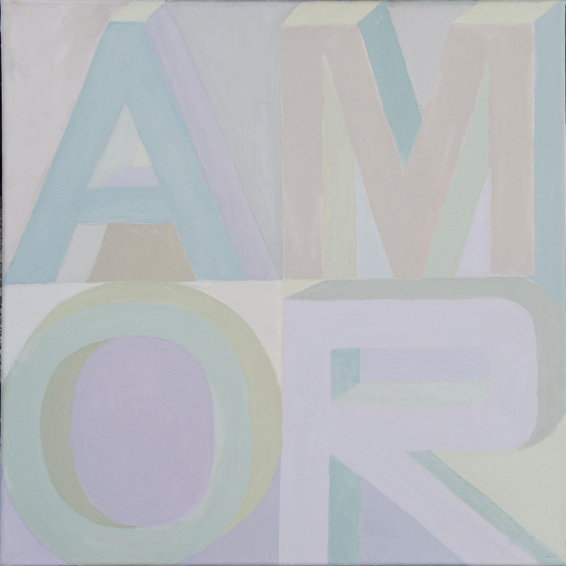 """Paula Blumenfeld, Amor, Oil, 20""""x20"""", $1,400"""