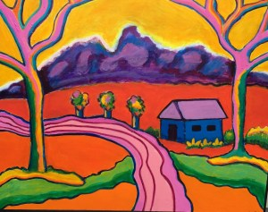 "Dorothy Cancellieri, Pleasant Acres, Acrylic, 24""x30"", $625"