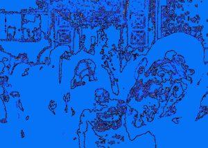 "Steven Levine, Deconstruction, Abstract Photograph, 13""x16"", $325"