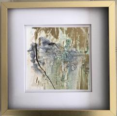 "Denise Petit Caplan, Just the Essence, Mixed media,12""x12"" framed, $250"