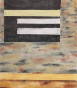 "Mitchell Visoky, Barn Secrets II, Pastel on paper, 24""x18"" unframed, $600"