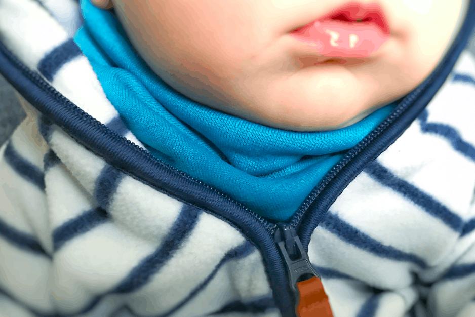 Halssocke nähen - Anleitung und Schnittmuster