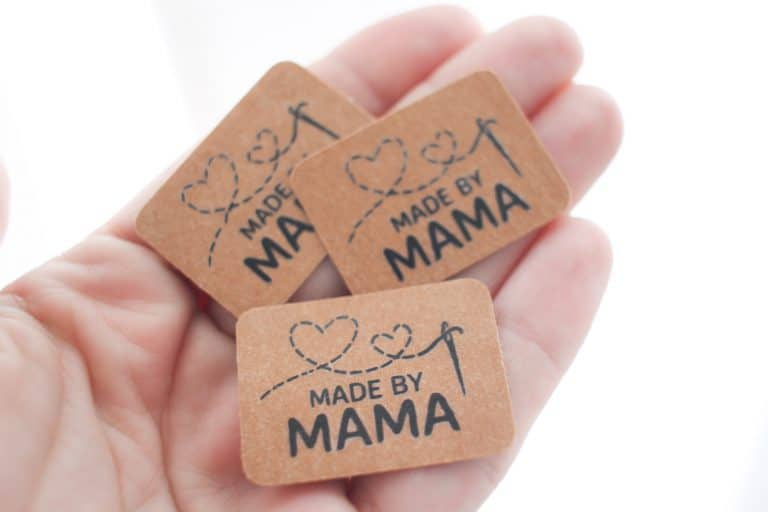 Größenlabel Made by Mama Mamas Sachen Plotten Plotter Plotterdatei Plottdatei Plottdesign