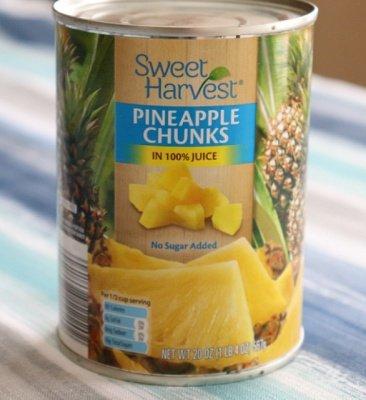 Coleslaw Col Pineapple Chunks Pineapple Salad