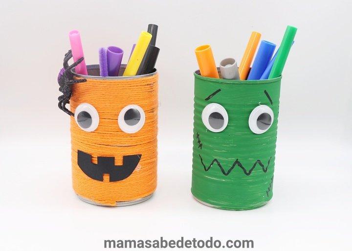 Halloween-crafts-food-can
