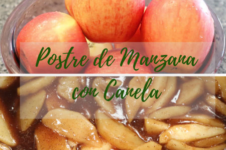 Postre de Manzana con Canela Instant Pot