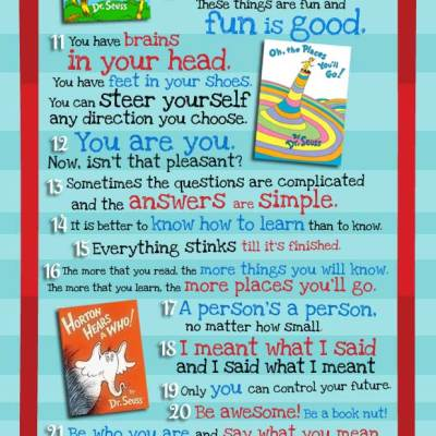 Dr. Seuss…..a character for sure!