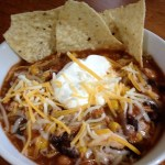 Crock Pot {Slow Cooker} Chicken Taco Soup