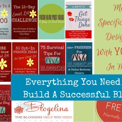 Blogelina is Giving Away a Fantastic Blogging Bundle for Moms
