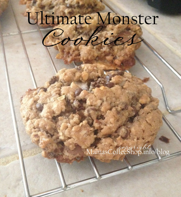 Ultimate Monster Cookies {Recipe}