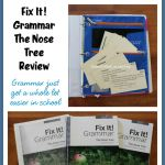 {Product Review} Institute for Excellence in Writing and Fix It! Grammar: The Nose Tree (Book 1)