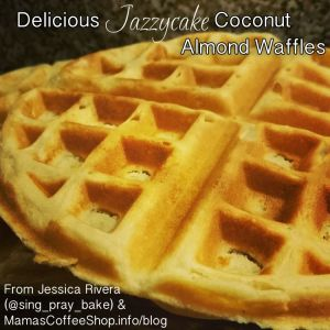 Coconut Almond Waffles