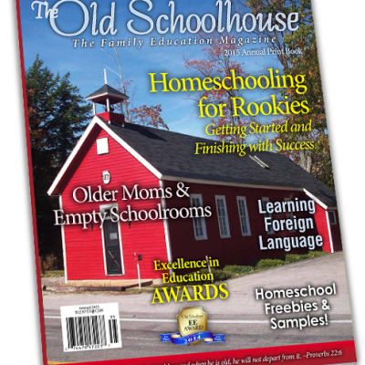 The Old Schoolhouse 2015 Annual PRINT Edition NOW AVAILABLE