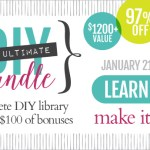 A Busy Mom and The Ultimate DIY Bundle