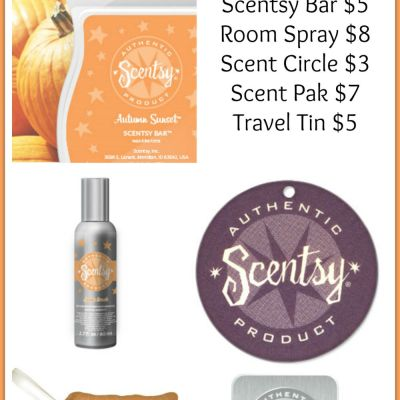 Fragrance Friday {Scentsy Pick of the Week} – Autumn Sunset