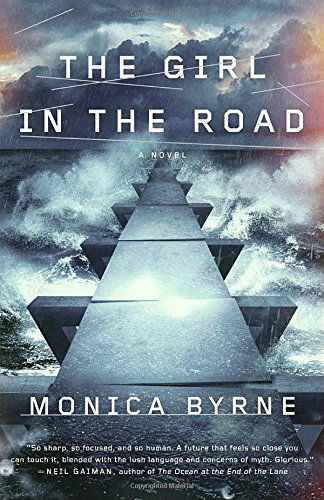 The Girl in the Road by Monica Byrne | Mama's Coffee Shop Book Review