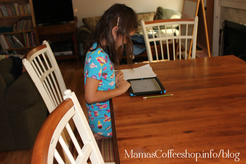 Mamas Coffee Shop | iPad Use in Our Homeschool