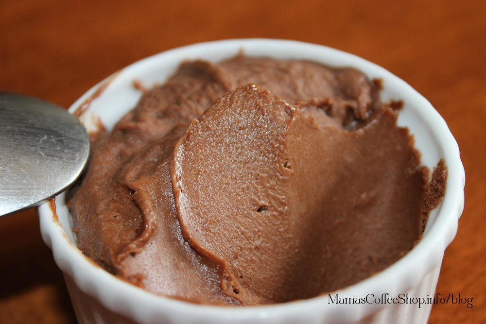 Mama's Coffee Shop Close Up Nutella No Bake Dessert