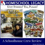 {Product Review} Early Settlers in America (Unit Study) from Homeschool Legacy