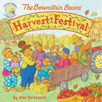{BookLook Bloggers Book Review} The Berenstain Bears' Harvest Festival by Mike Berenstain