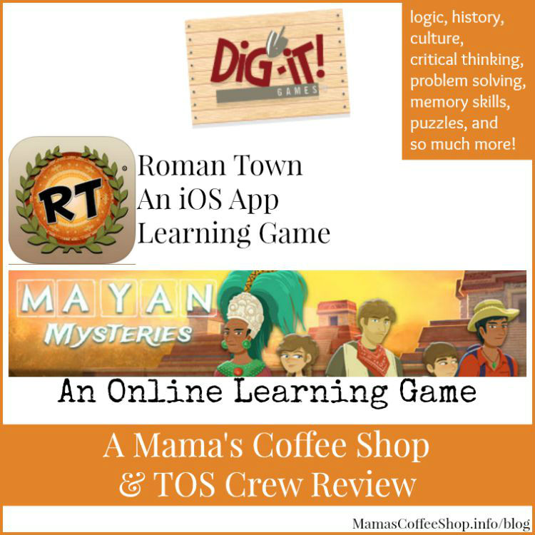 Mamas Coffee Shop- Dig-It! Games