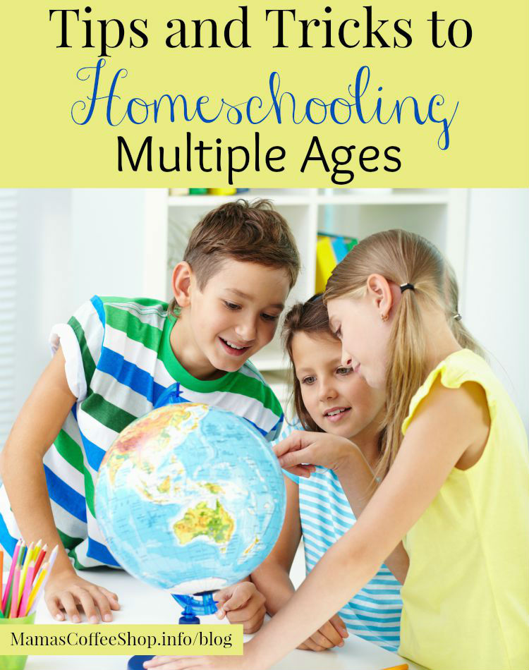 Mamas Coffee Shop - Tips And Tricks To Homeschooling Multiple Ages - Back To Homeschool Blog Hop
