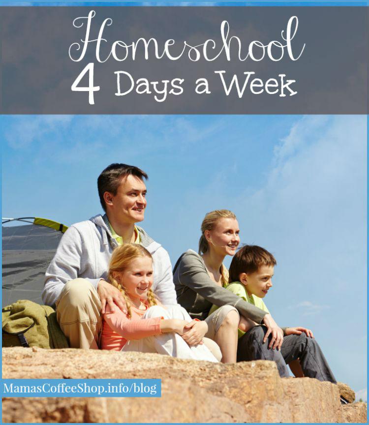 Mamas Coffee Shop- Homeschool 4 Days A Week