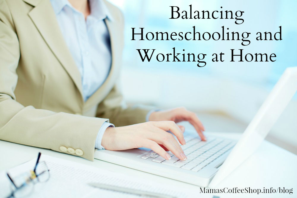 MamasCoffeeShop-Balancing Homeschooling and Working from Home