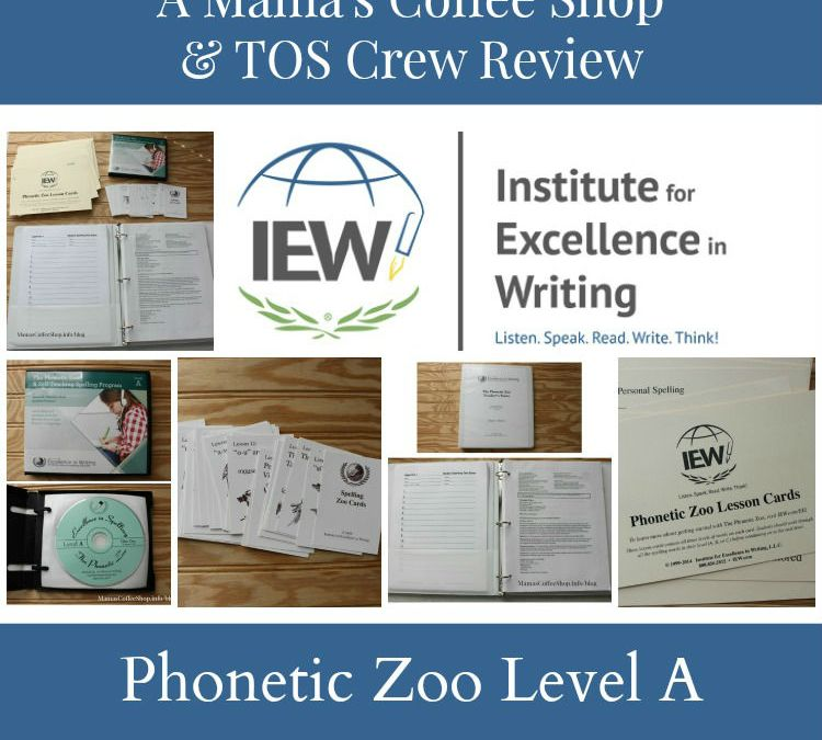 {Product Review} Phonetic Zoo Level A (Spelling Curriculum) from Institute for Excellence in Writing (IEW)