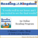 {Product Review} Online Reading Program from Reading Kingdom