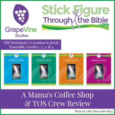 {Product Review} Stick Figure Through the Bible from Grapevine Studies