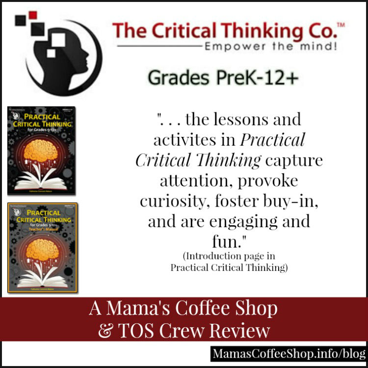 Mama's Coffee Shop - The Critical Thinking Co