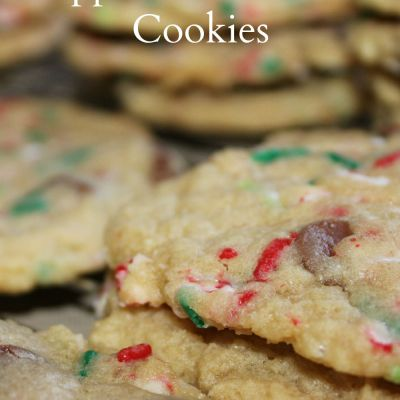 Peppermint Funfetti Cookies {Recipe}