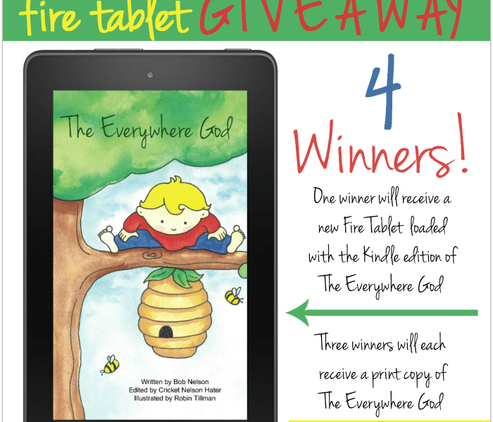 The Everywhere God book review and Giveaway