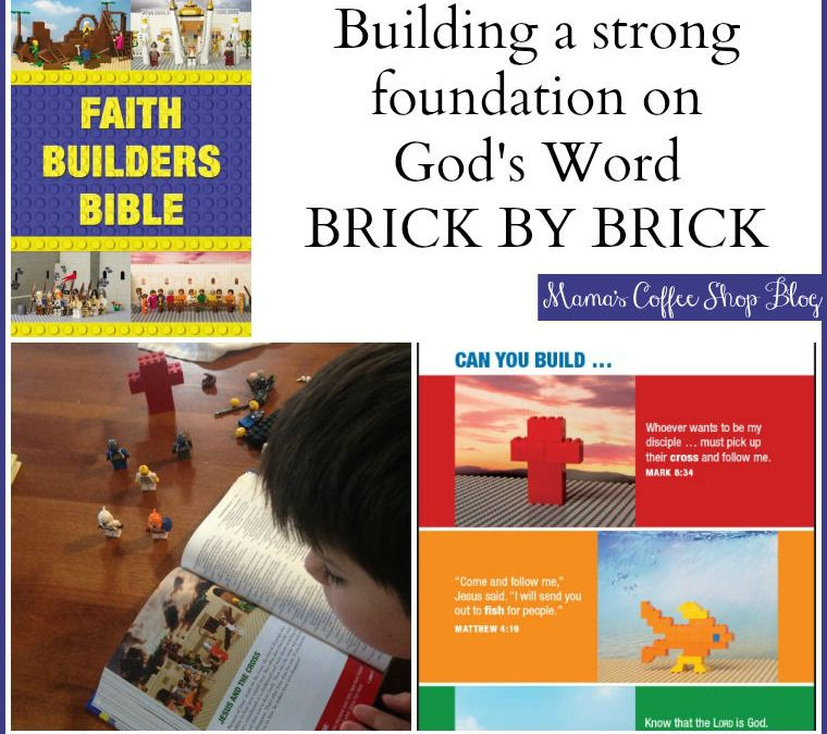 {Product Review} Faith Builders Bible from Zonderkidz