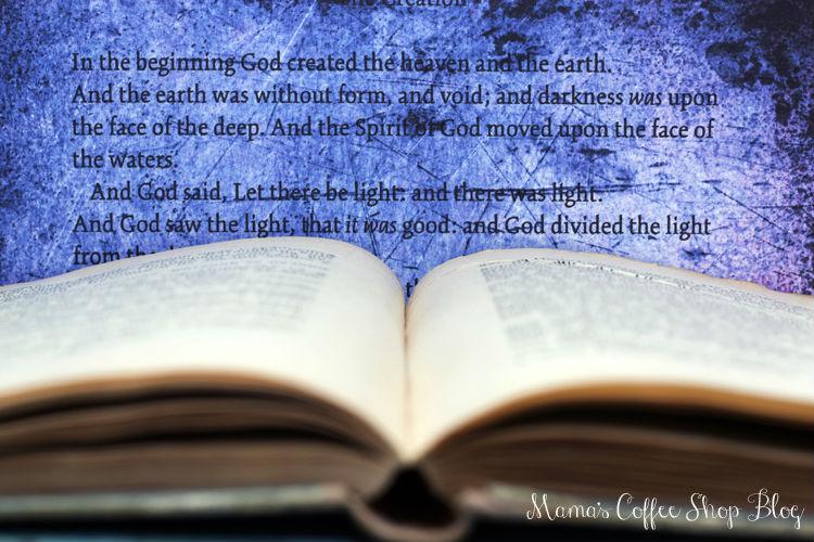 Mama's Coffee Shop Blog - Bible