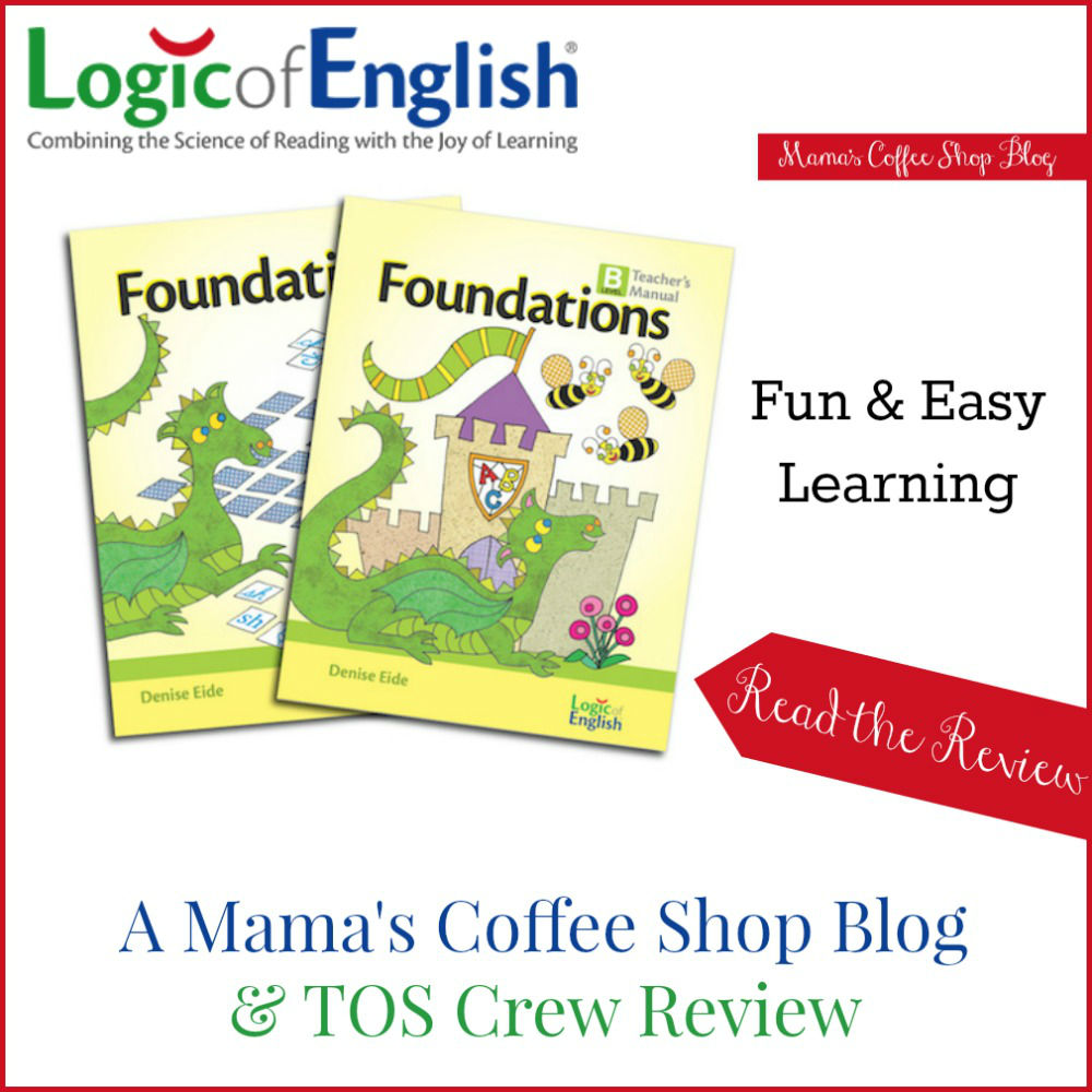 Mama's Coffee Shop Blog - LOE- Level B Foundations