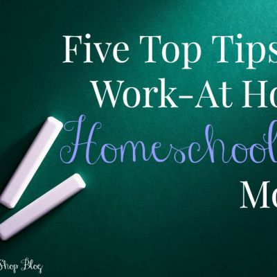 Five Top Tips for Work-At Home Homeschooling Moms