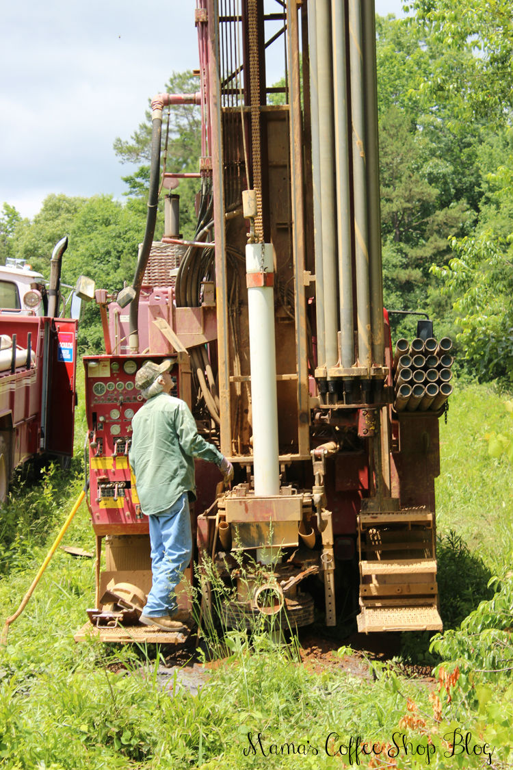 Mama's Coffee Shop Blog - Water Well Pipe Truck