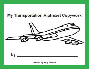 Mama's Coffee Shop Blog - Homeschool Copywork - Transportation