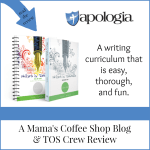 {Product Review} Writers in Residence from Apologia Educational Ministries