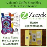 {Product Review} Elementary Music Appreciation from Zeezok Publishing LLC