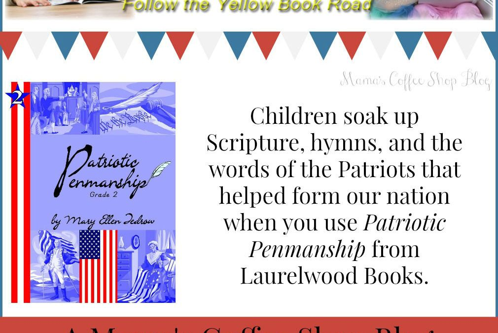 {Product Review} Patriotic Penmanship Grade 2 from Laurelwood Books