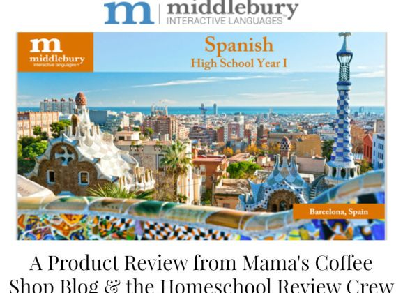 Middlebury Interactive Languages High School Spanish 1 {Homeschool Review Crew}