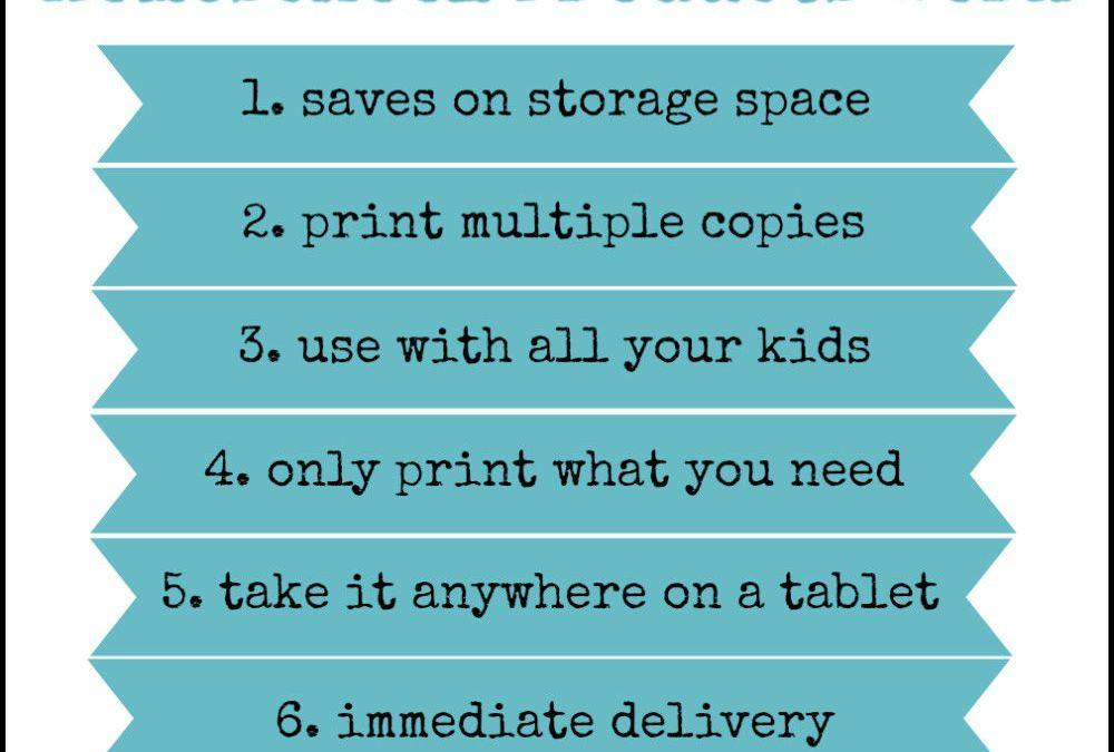 Why Digital Homeschool Products Work