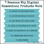 Why Digital Homeschool Products Work