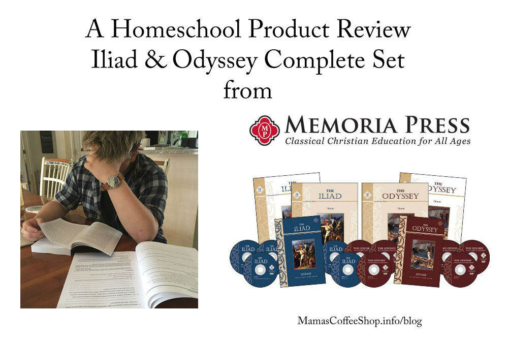 Gods, War, Women, and Intrigue – Classic Literature for Teen Boys {Homeschool Crew Review}