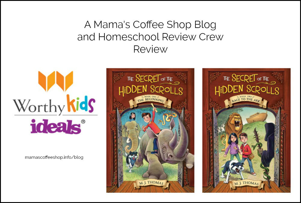 Hidden Scrolls and Adventures for Kids {Homeschool Review Crew}
