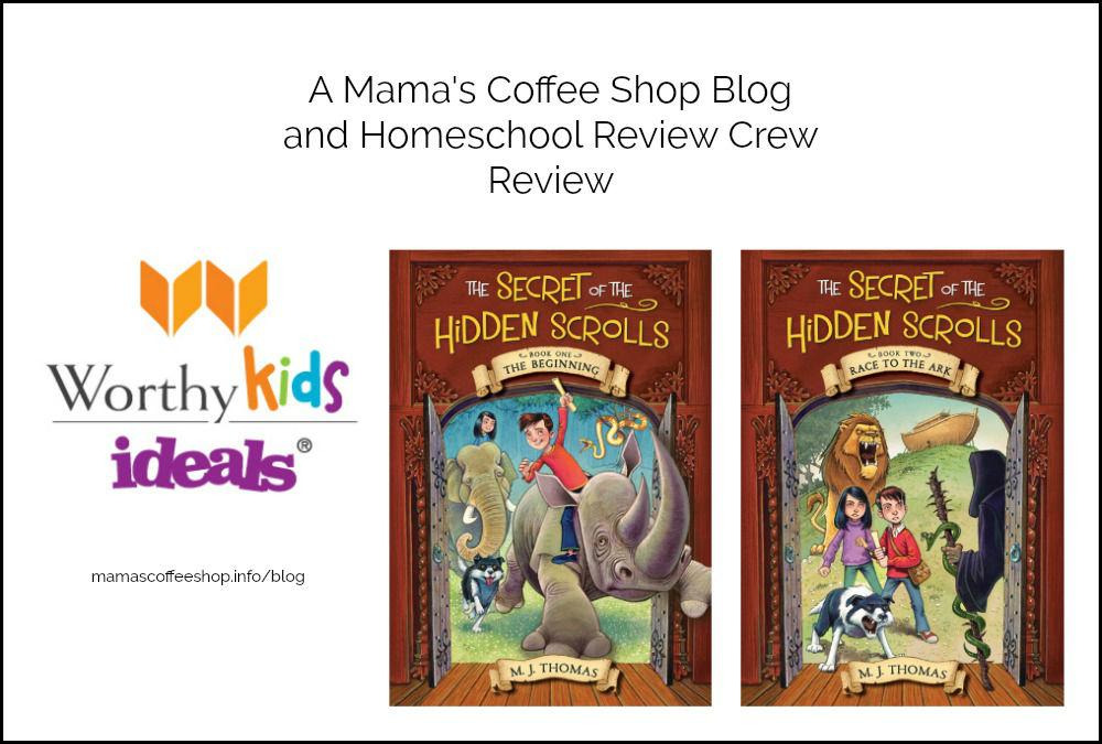 Hidden Scrolls and Adventures for Kids {Homeschool Review Crew}